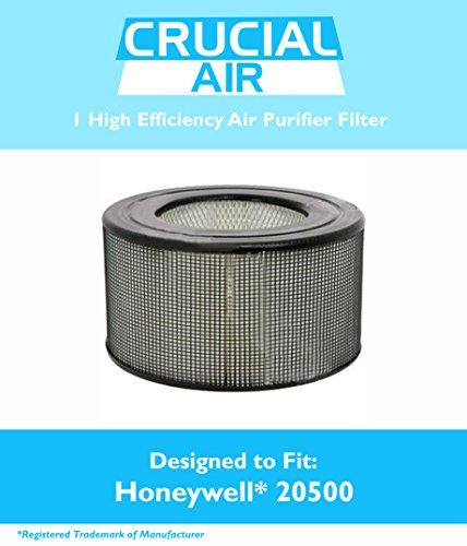 Honeywell 20500 Air Purifier Filter Fits Honeywell Enviracaire Model 10500, EV-10, 17005, 170xx & 83170, Designed & Engineered by Crucial Air