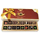 Chocholik Belgium Gift - Amazing Combination Of 8 Dark And 8 Milk Chocolate Box