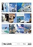 No limit Wall Calendar 2016 - Extreme Sports Calendar - Poster Calendar - Carpe Diem Calendar By Helma