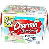 Charmin Ultra Strong 36 Giant Rolls = 90 Regular Rolls