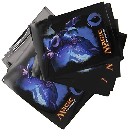 "Magic the Gathering Mana 4 Planeswalkers ""Jace - Blue"" Deck Sleeves - 80 Ct"