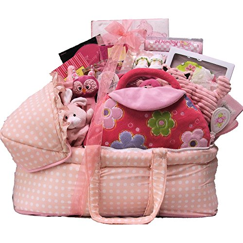 Great Arrivals Baby Gift Basket, Best Wishes Girl