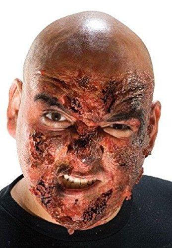 [Popcandy Theatrical FX Burn Victim Makeup Kit] (Prosthetic Fx Makeup Halloween Masks)