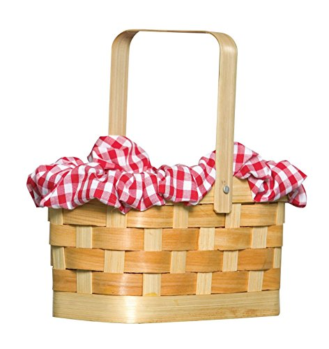 Rasta 5998 Gingham Basket (Little Red Riding Hood Basket compare prices)