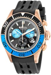 Breil Milano Men's BW0406 Manta Analog Black Dial Watch
