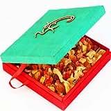 Ghasitaram Om Green Real Dried Fruit Box (Green,Square)