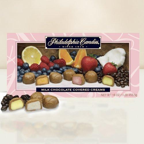 Philadelphia Candies Milk Chocolate Assorted Creams