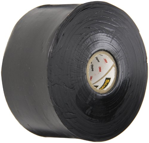 """Scotch Linerless Rubber Splicing Tape 130C, 2"""" Width, 30 Foot Length (Pack Of 1)"""