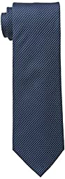 Kenneth Cole REACTION Men\'s Waffle Texture Tie, Teal, One Size