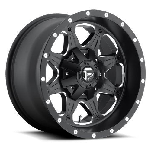 Fuel Offroad Wheels D534 17x9 Boost 5x5.05x5.5 NB4.50 -12 87.1 Black Milled (Fuel Boost 17x9 compare prices)