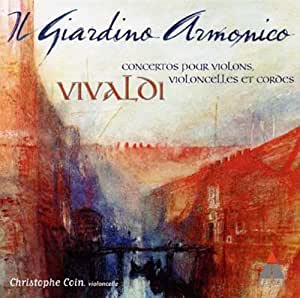 Il giardino armonico : concertos pour violons, violoncelles et cordes de Vivaldi
