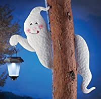 Tree Ghost Solar Lantern Halloween Decoration by Collections Etc