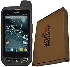 SONIM XP7 XP7700 16GB YELLOW ON BLACK ANDROID TOUGH RUGGED IP68 FACTORY UNLOCKED 4G/LTE CELL PHONE