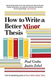 img - for How to Write a Better Minor Thesis book / textbook / text book