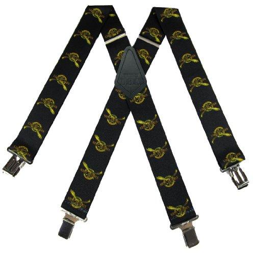 """Sus-408-Nsbk - Navy Seal Suspenders - 2.00 """" Made In U.S.A"""