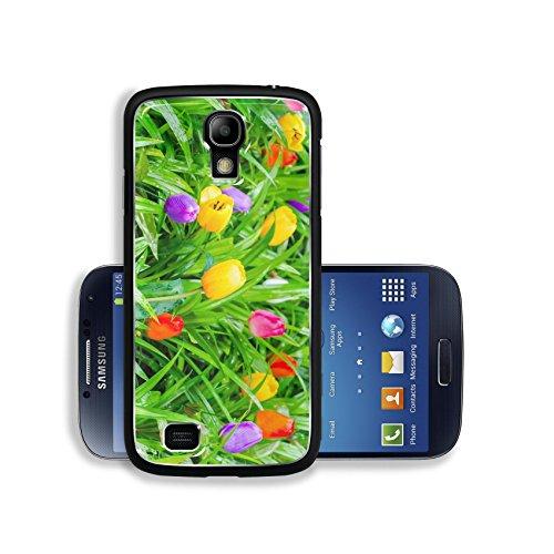 Liili Premium Samsung Galaxy S4 Aluminum Case Fake colorful tulips Image ID 22763422 (Fake Ebay compare prices)