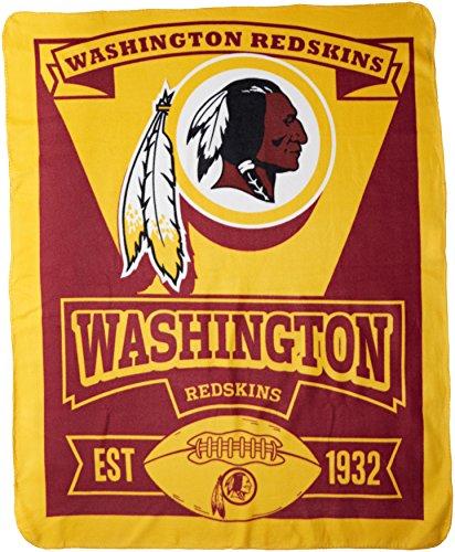 nfl-washington-redskins-marque-printed-fleece-throw-50-inch-by-60-inch