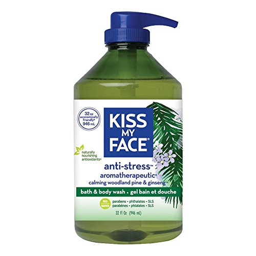 Kiss My Face Natural Bath and Body Wash, Anti-Stress and Aroma-therapeutic, 32 Ounces (My Aroma compare prices)