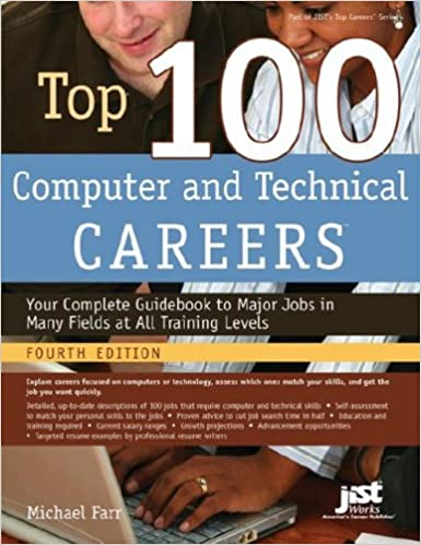 Top 100 computer and technical careers Book Cover