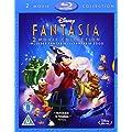Fantasia / Fantasia 2000 [Blu-ray] [REGION FREE]