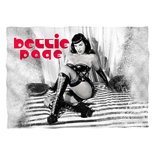 Bettie Page Boots Sublimation Pillow Case