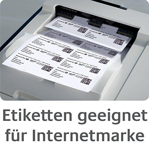 Avery Zweckform J8560-25 Etiquettes transparentes 63,5 x 38,1 mm 25 feuilles (Import Allemagne)