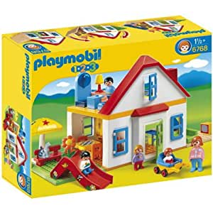 Playmobil 123 - 6768 - Figurine - Coffret Grande Maison