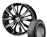 [235/55R20]GOODYEAR / ICE NAVI SUV スタッドレス [2/-][Weds / LEONIS VX (BKMC) 20インチ] スタッドレス&ホイール4本セット ムラーノ(Z51系)