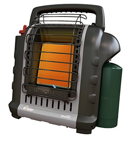 Mr. Heater F232017 MH9BX Buddy Grey Indoor-Safe Portable Radiant Heater (4,000-9,000-BTU) (Buddy Heater Mh9bx compare prices)