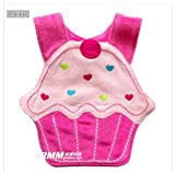 1X Cartoon Modelling Baby Saliva Bib For Baby K0815 (Lovely Cake)