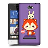 Head Case Designs Brave Kawaii Fox Flynn Protective Snap-on Hard Back Case Cover for HTC Windows Phone 8S
