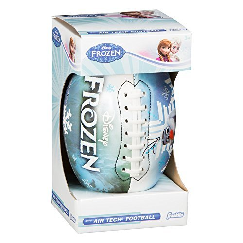Franklin Sports Disney Frozen Mini Air Tech Football - Kristoff/Sven/Olaf by Franklin Sports