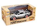 Back To The Future Part 3 III Delorean Time Machine 1:24 Scale Car Diecast Model