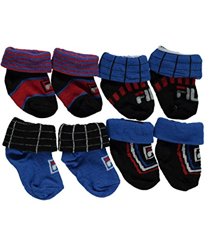 fila-baby-boys-grids-striped-logo-4-pack-sock-booties-red-white-0-6-months