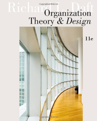 Get Free Download Organization Theory And Design By Richard L Daft Pdf Online Carbry Kunotre