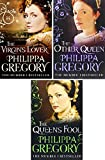 PHILIPPA GREGORY THREE BOOK SET COLLECTION: THE VIRGIN'S LOVER __ THE OTHER QUEEN __ THE QUEEN'S FOOL PHILIPPA GREGORY