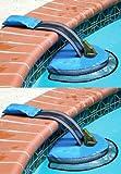 2 Swimline Hydrotools 70200 Swimming Pool Froglog Critter Saving Escape Ramps