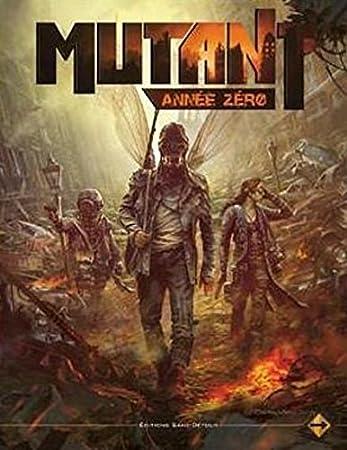 Mutant - Année Zéro : Livre de base - Jeu de rôle