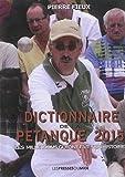 Dictionnaire de la pétanque 2015