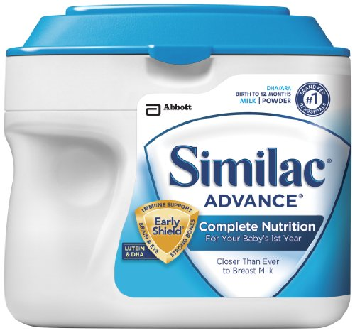 Similac Advance Early Shield, Formula, Powder, 23.2-Ounces (Pack of 6)