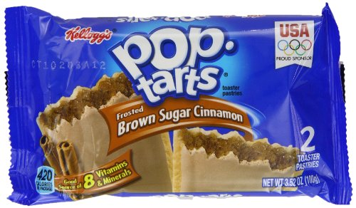 Kelloggs Pop Tarts Frosted Brown Sugar Cinnamon Twin Pack 100 g (Pack of 6)