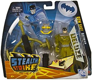 "Bow Shot Batman ~5"" Figure Deluxe Pack: Batman The Brave and the Bold Stealth Strike Series at Gotham City Store"