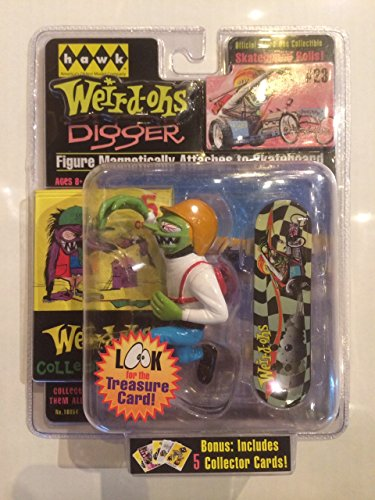 Weird-Ohs Carded Figure With 5 Collecter Cards #23 Digger