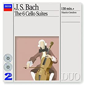 J.S. Bach: Suite for Cello Solo No.1 in G, BWV 1007 - 5. Menuet I-II