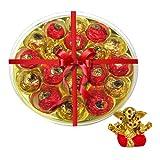 Chocholik's Amazing And Perfect Combination Of Chocolate Truffles With Small Ganesha Idol - Diwali Gifts