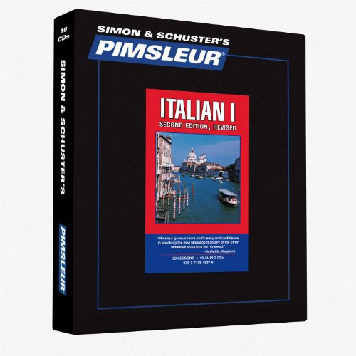 Italian I, Comprehensive: Learn to Speak and Understand Italian with Pimsleur Language Programs