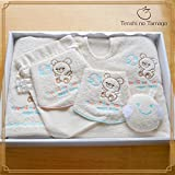 Amazon.co.jp(Tenshi no Tamago)天使の卵 オーガニックコットンバスウェアセット ~エンジェルベビー~ (ABSET003)