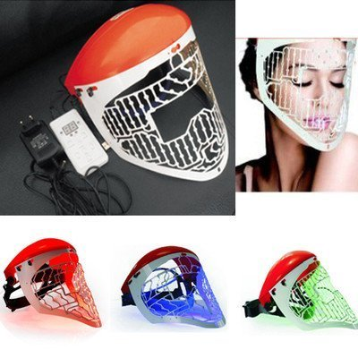 Brightdeal Beauty Led Light Therapy Face Mask Skin Photon Rejuvenation Acne Remover