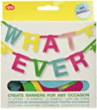 NPW Whatever Make Your Own Banner Kit Create Banners for Any Occasion W7541