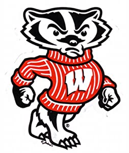 Buy NCAA Wisconsin Badgers Car Magnet (Small, 2 Pack) by Game Day Outfitters